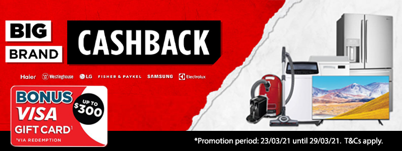 March Big Brand Cashback