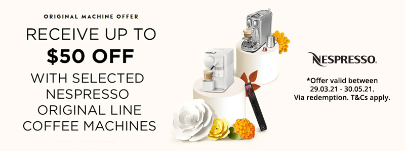 Nespresso Original Machine Offer