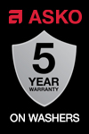ASKO Bonus Extended Warranty, Complimentary Delivery & Installation - Washers
