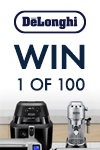 De'Longhi Chance to Win 1 of 100 Benchtop Appliances