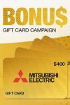 Mitsubishi 2021 Winter Gift Card Bonus