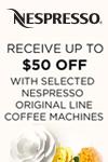 Nespresso Original Machine Offer