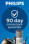 Philips 90 Day Money Back Guarantee