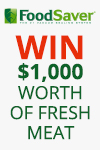 Sunbeam Foodsaver Win Meat Promotion