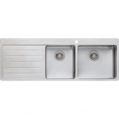 Oliveri Sonetto 1 & 3/4 Bowl Topmount sink - SN1012
