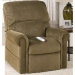 CLIFTON DUAL MOTOR FABRIC LIFT ARMCHAIR - FOREST