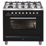 Ilve 90cm Dual Fuel Freestanding Cooker - NT96WMP/BK - Ex Display -
