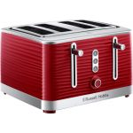 Russell Hobbs Inspire 4 slice Toaster - Red - RHT114RED - End of Line -